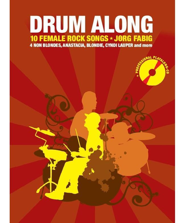 Drum Along 10 Female Rock Songs, Buch