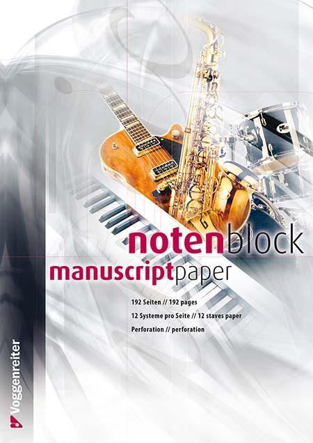 Notenblock 192 Seiten