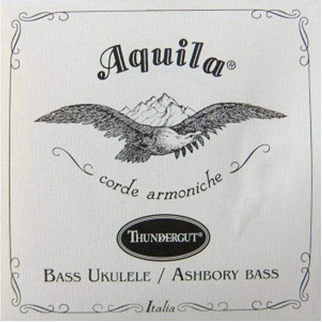 Aquila Ukulele-Bass Strings Thundergut
