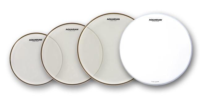 Aquarian Classic Clear Drum Head Set
