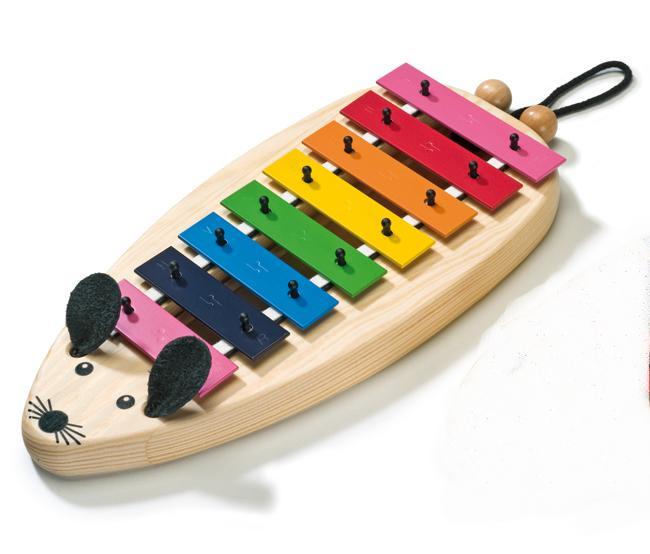 Sonor Glockenspiel MG C Maus Toy Sound c3-c4