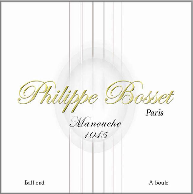 Philippe Bosset MAC-1045 Set Gypsy 010-045 Ball End