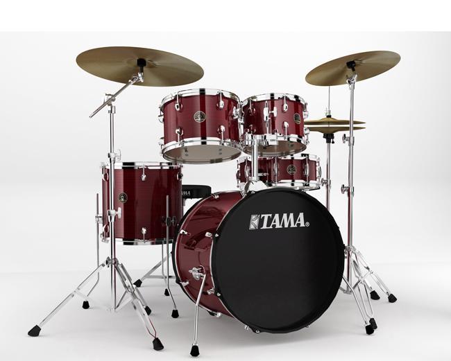 Tama Rhythm Mate Studio RDS + Meinl BCS