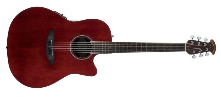 Ovation CS24-RR Celebrity Standard ruby red