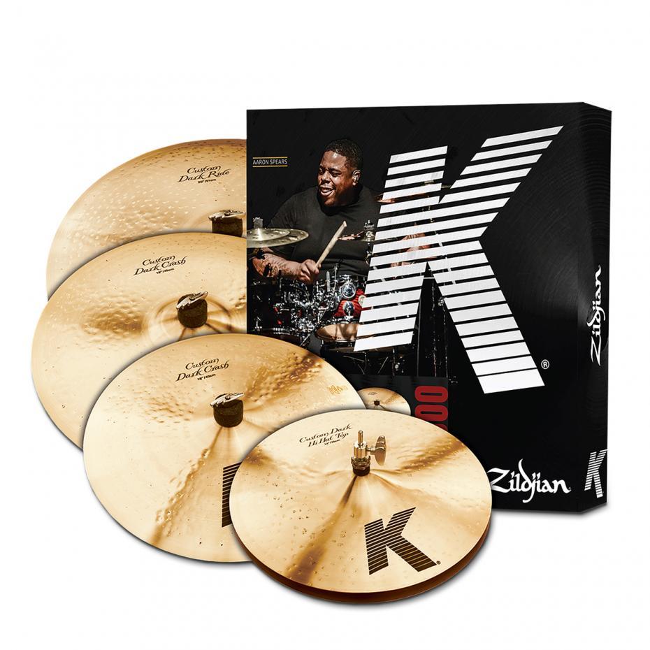 Zildjian K-Custom Cymbal Set - Dark