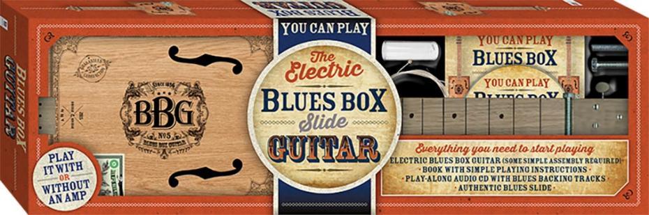 Blues Box Guitar Kit Zigarrenkisten Bausatz