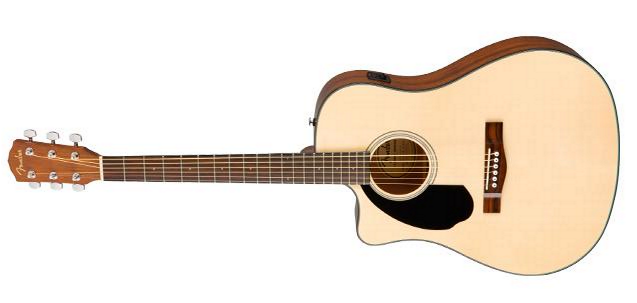 Fender CD-60SCE LH WN