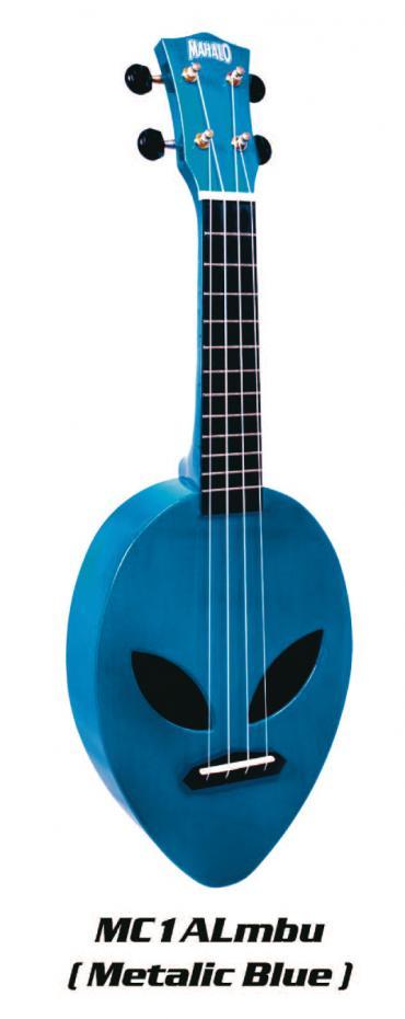 Mahalo MC 1 ALIEN Metal Blue