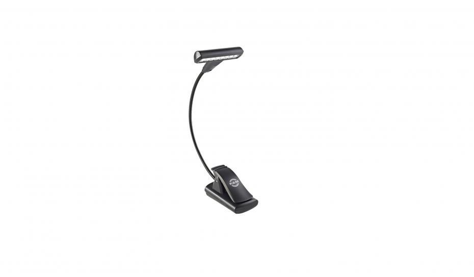 K&M 12247 Notenpultleuchte »T-Model LED FlexLight« - schwarz