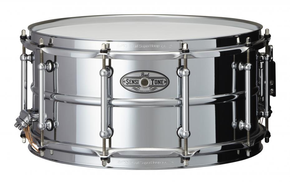 Pearl STA1465S Sensitone Beaded Steel Snare