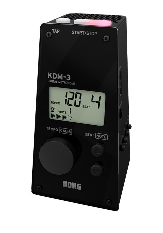 Korg KDM-3BK Metronom schwarz