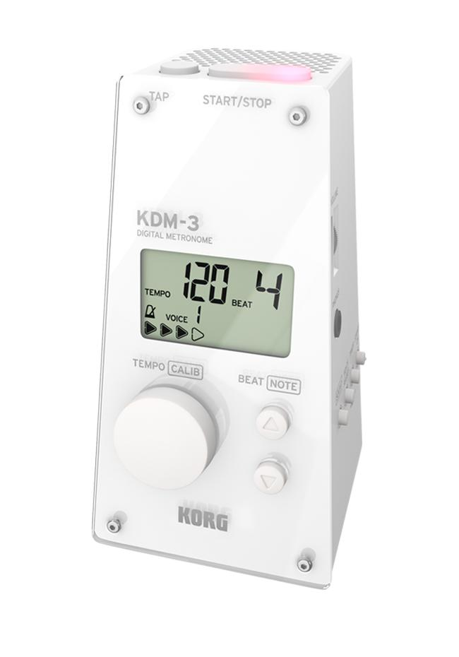 Korg KDM-3WH Metronom weiß
