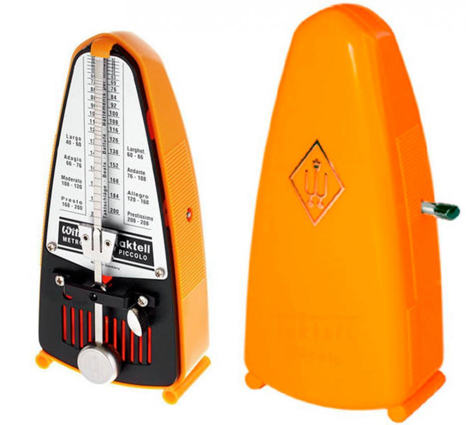 Wittner W-231 Metronom Piccolo orange
