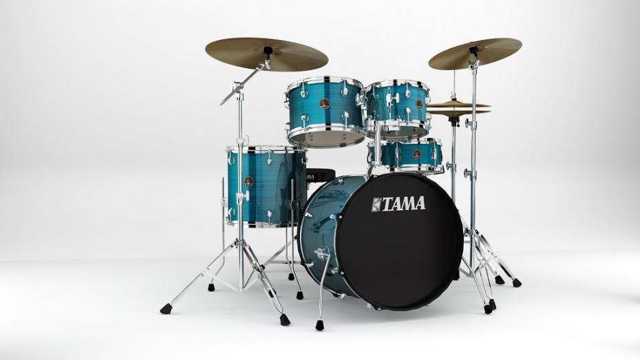 Tama Rhythm Mate Studio HLB + Meinl BCS