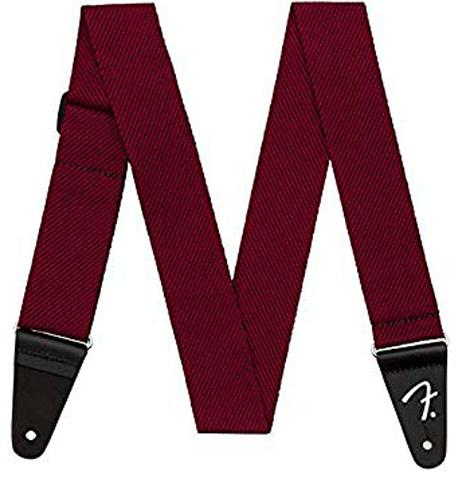 Gurt Fender Modern Tweed Blk Red