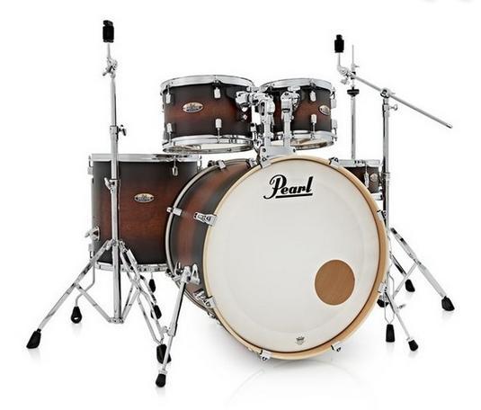 Pearl Decade Maple Satin Brown Burst
