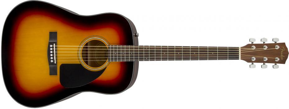 Fender CD-60 Dread V3 SB WN
