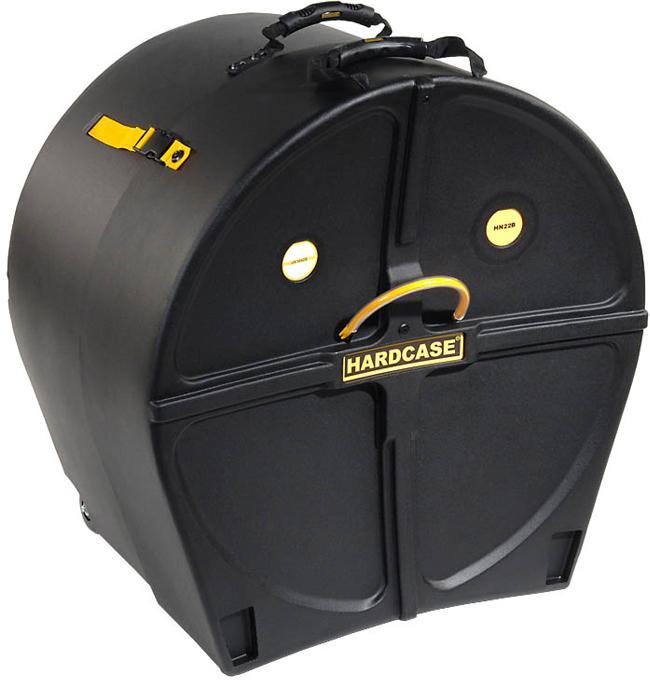 Hardcase Bassdrumkoffer 22