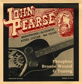 John Pearse 3100 16-59 Set Dobro