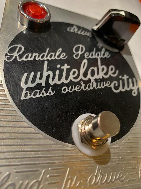 Randale Pedale White Lake City Bass Overdrive
