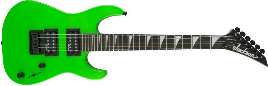 Jackson Minion Dinky JS1X neon green