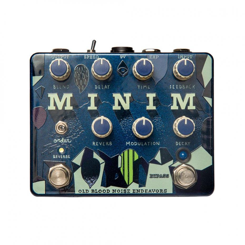 Minim Reverb Delay &  Reverse Immediate Ambience Machine