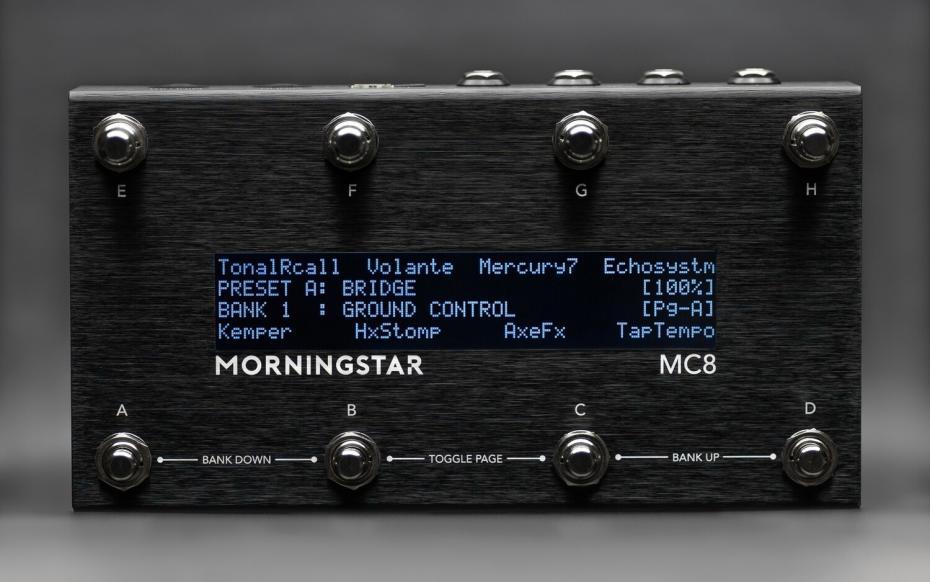 Morningstar Engineering MC8 Midi Controller