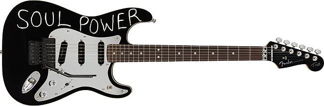 Fender Tom Morello Stratocaster® Rosewood Fingerboard Black B-Stock
