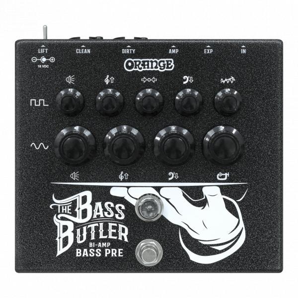 Orange Pedal Bass Butler
