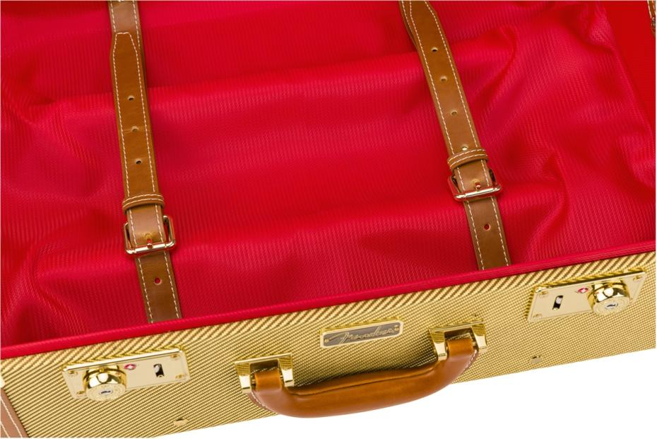 Fender® Tweed Rolling Luggage Case