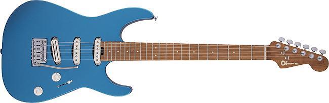 Charvel Pro-Mod DK22 SSS 2PT CM Caramelized Maple Fingerboard Electric Blue