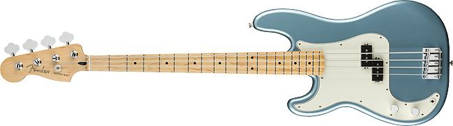 Fender Player Precision Bass Left-Handed Maple Fingerboard Tidepool