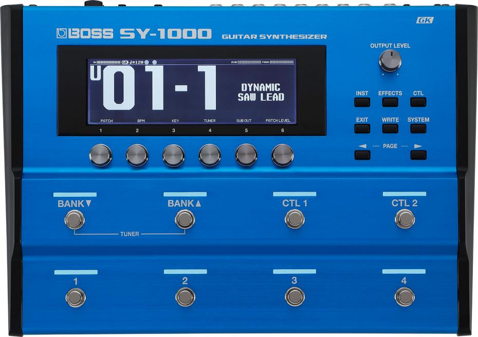 Boss SY-1000 Advanced Guitar Synth