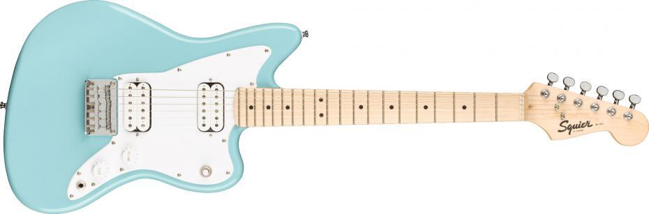 Squier Mini Jazzmaster® HH Maple Fingerboard Daphne Blue