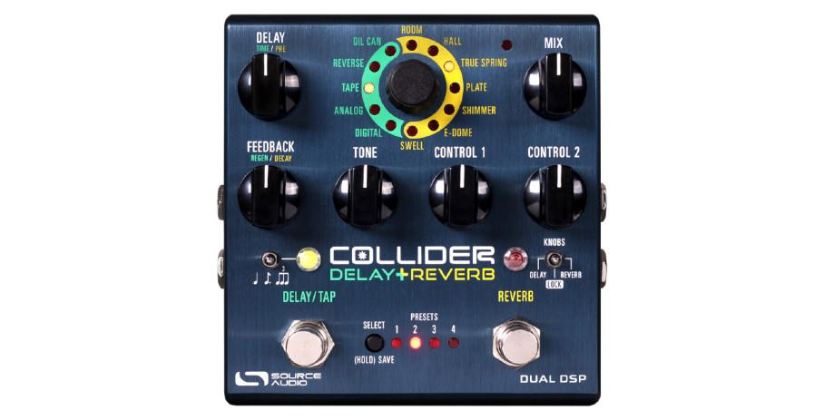 Source Audio SA 263 - One Series Collider Stereo Delay+Reverb