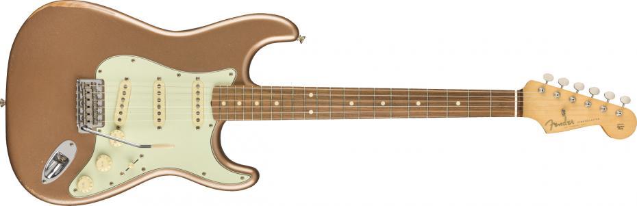 Fender Road Worn® 60s Stratocaster® Pau Ferro Fingerboard Firemist Gold