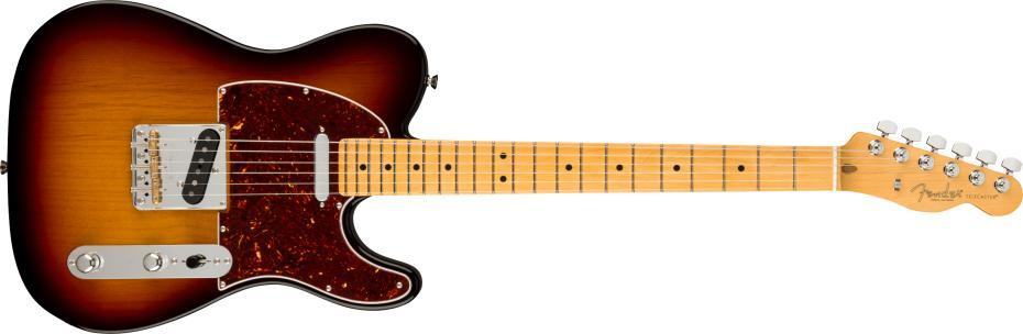 Fender American Professional II Telecaster® Maple Fingerboard 3-Color Sunburst