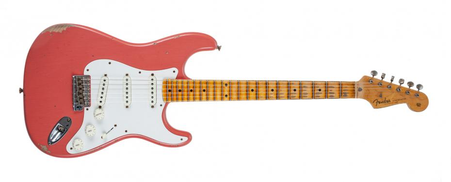 Fender Strat Tomatillo III Relic super faded aged tahitian coral
