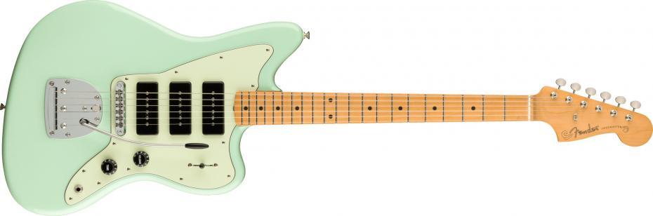 Fender Noventa Jazzmaster® Maple Fingerboard Surf Green