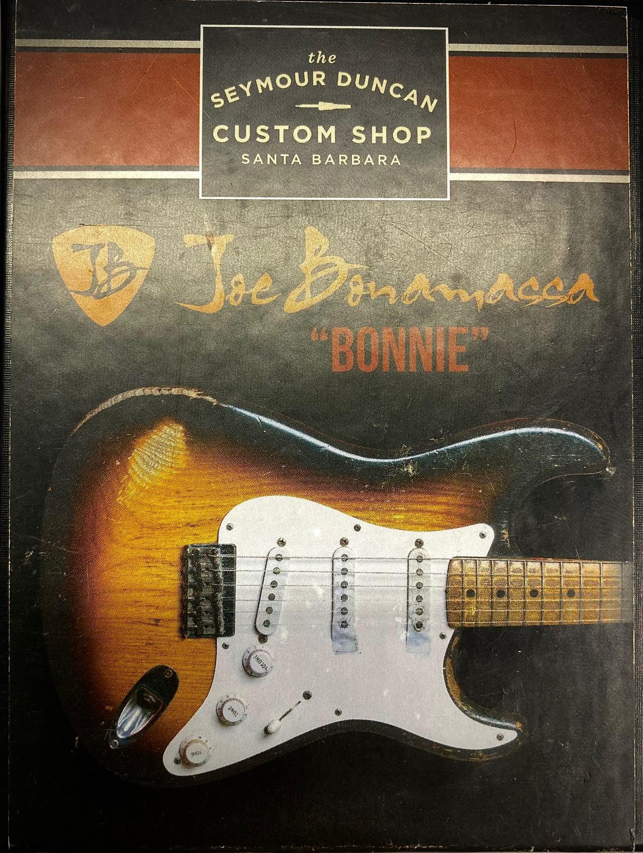 Seymour Duncan Joe Bonamassa Signature Bonnie Strat - Pickup Set - Non-Aged White
