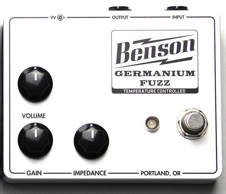 Benson Germanium Fuzz Temperature Controlled WHITE