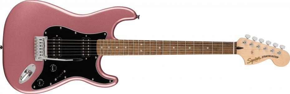 Squier Affinity Series™ Stratocaster® HH Laurel Fingerboard Burgundy Mist