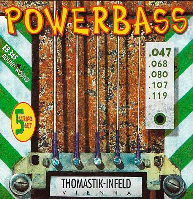 Thomastik Infeld EB345 Powerbass Saiten 5-Saiter 47-119
