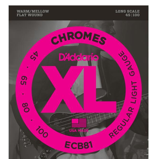 D`Addario ECB81-5 45-132 Chromes