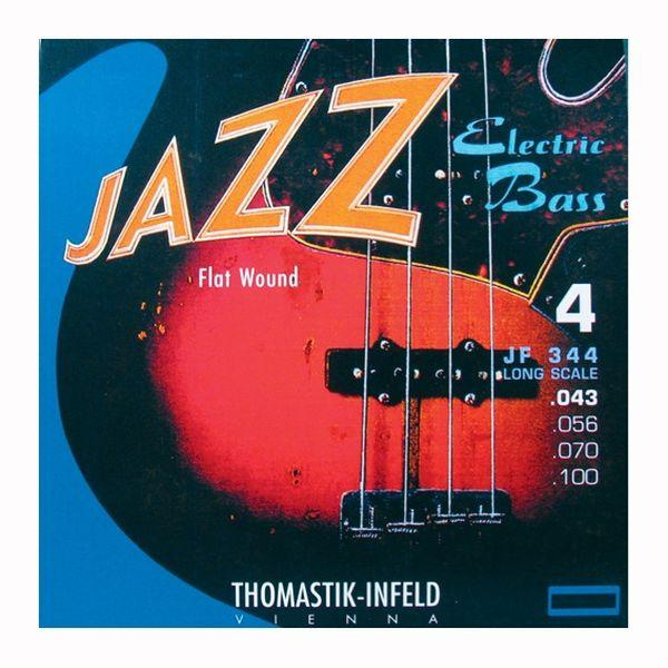 Thomastik Infeld JF-345 Jazz Flatwound Saiten 5-Saiter 43-136