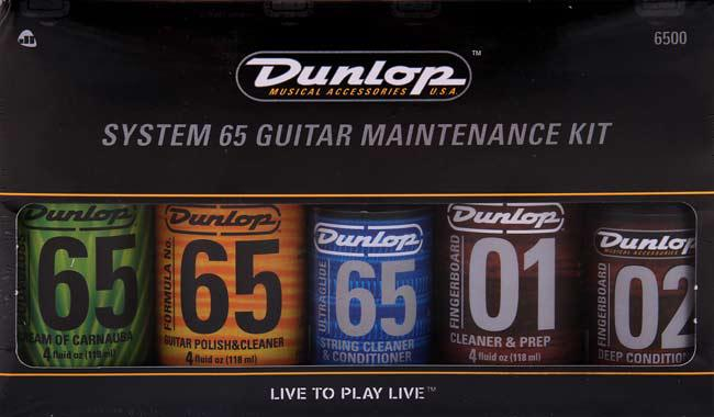 Dunlop System 65 Maintenance Kit Pflegeset