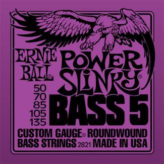 Ernie Ball 2821 Power Slinky Bass 5 50-135
