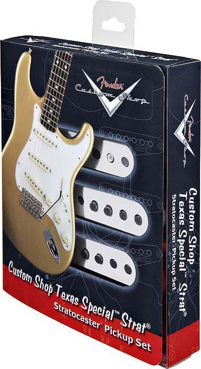 Fender Pickup Set Strat Custom Shop Texas Special