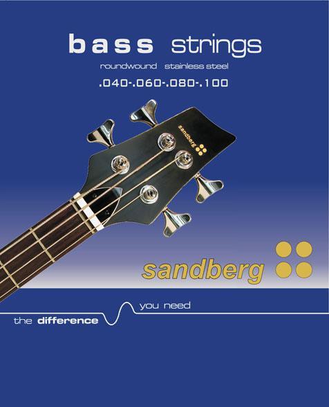 Sandberg Saiten BS4-40 40-100