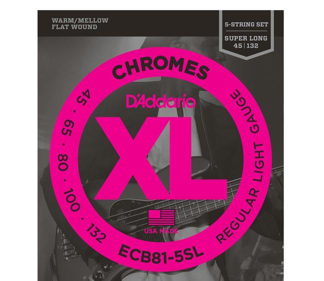 D`Addario ECB81-5SL 45-132 Chromes